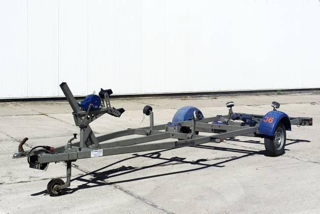 Bootsanhänger bis 5,50 m-750kg -Nr. 36