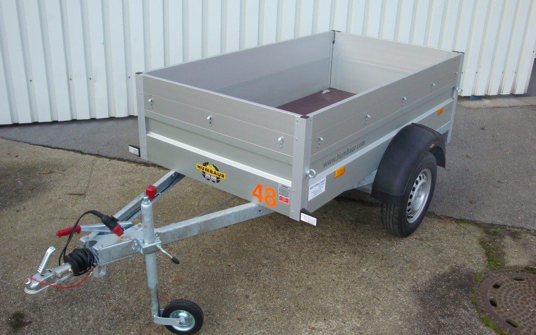 Kastenanhänger Bordw. 55 750 kg Nr.6